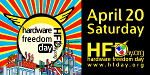 Celebrate Hardware Freedom Day on April 20 2013!